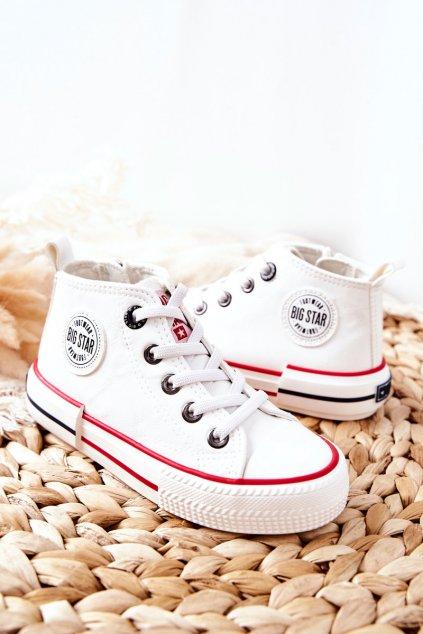 Detské tenisky farba biela kód obuvi II374004 WHITE