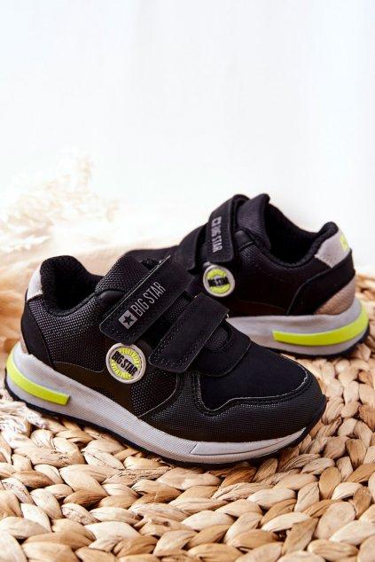 Detské tenisky farba čierna kód obuvi II374078 BLACK