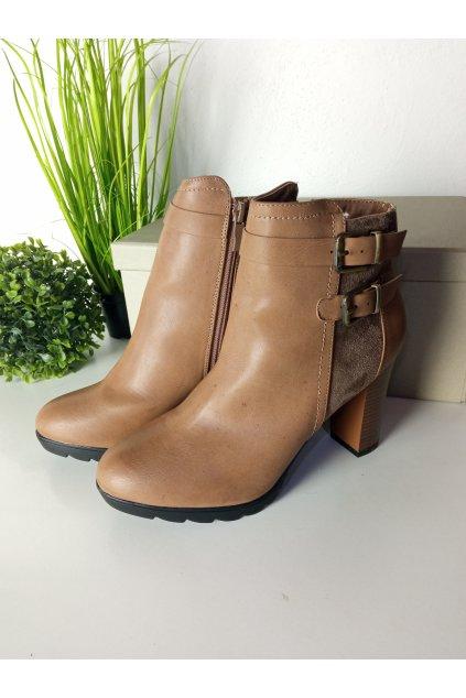 Hnedé topánky NJSK 816KH