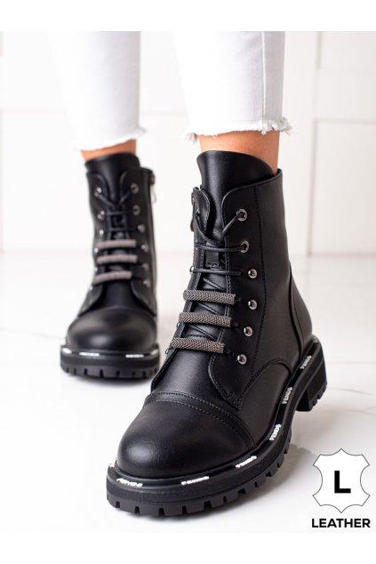 Čierne dámske topánky Artiker kod 49C0322B