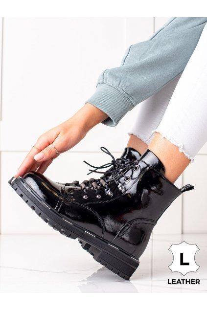 Čierne dámske topánky Artiker kod 49C0320B