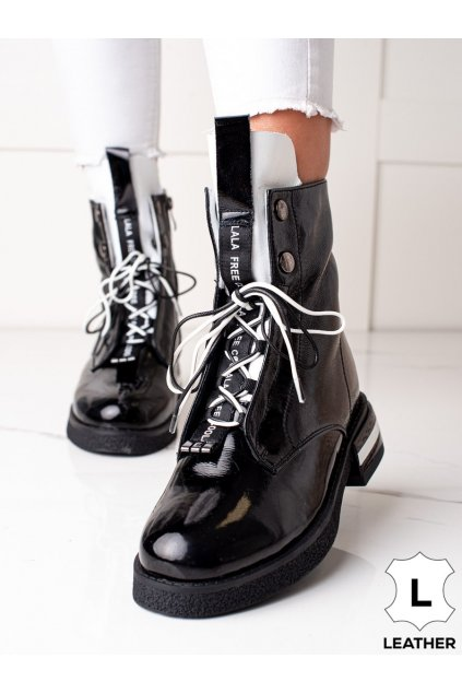Čierne dámske topánky Artiker kod 49C0308B
