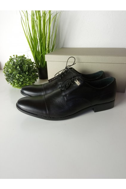 Čierne topánky NJSK 501B