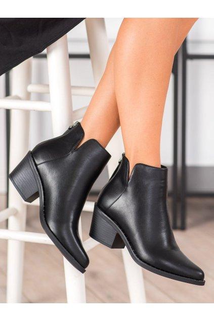 Čierne dámske topánky Trendi kod H20566B