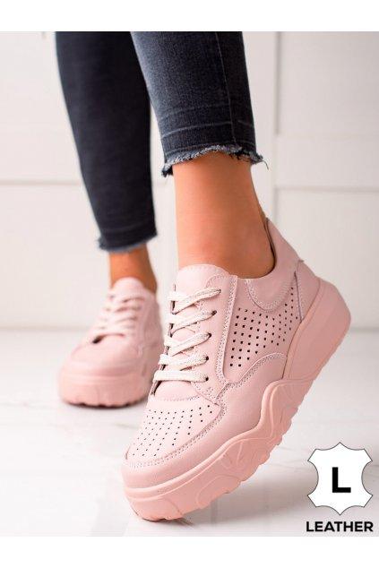 Ružové dámske tenisky Vinceza kod FT21-8700P