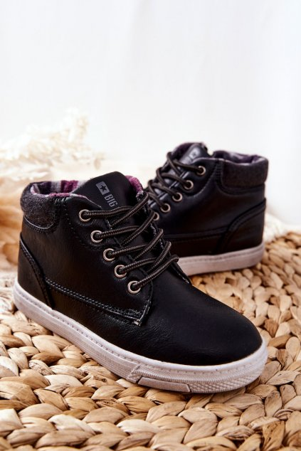 Detské tenisky farba čierna kód obuvi BB374132BS BLK