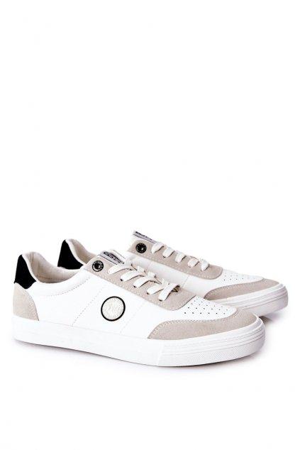 Biela obuv kód topánok II174009 WHITE/BEIGE