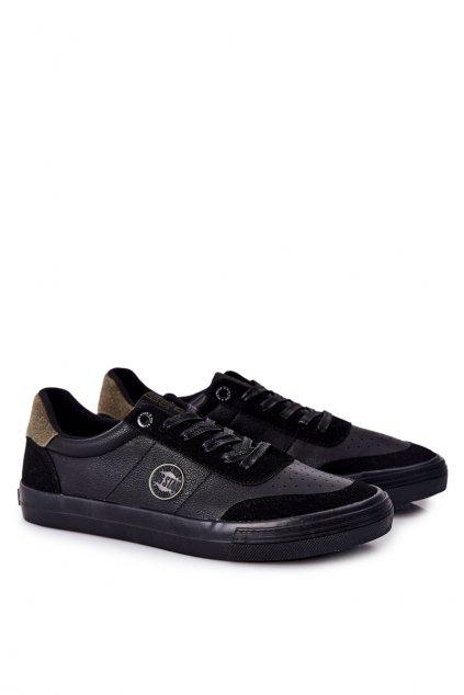 Čierna obuv kód topánok II174008 BLACK/KHAKI