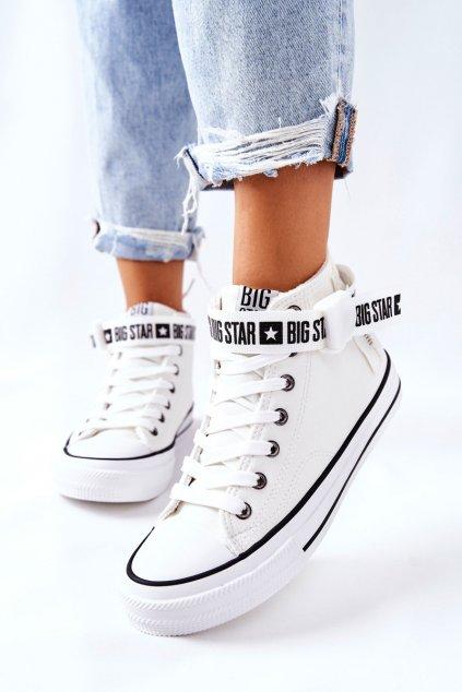 Dámske tenisky farba biela kód obuvi GG274027 WHT