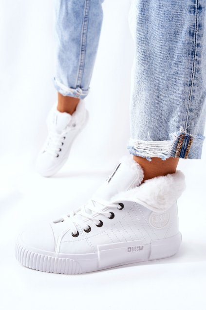 Dámske tenisky farba biela kód obuvi II274156 WHT