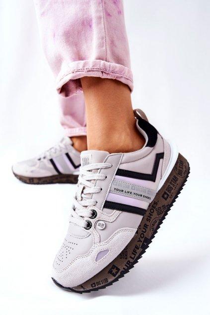 Dámske tenisky farba sivá kód obuvi II274297 GREY
