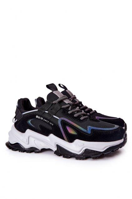 Čierna obuv kód topánok II174044 BLK