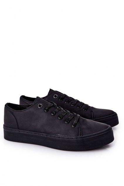 Čierna obuv kód topánok II174047 BLACK