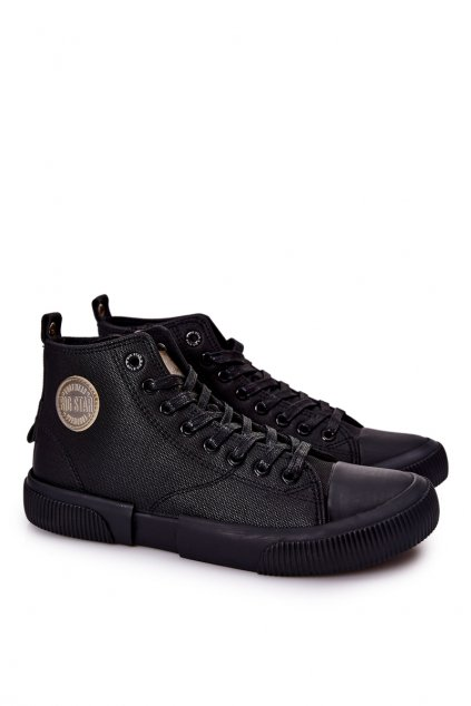 Čierna obuv kód topánok II174023 BLK
