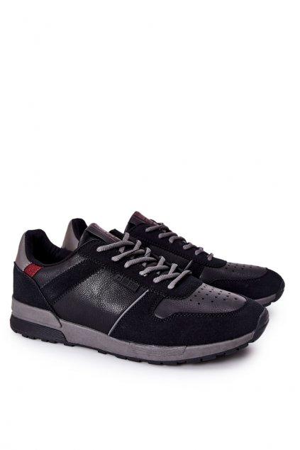 Čierna obuv kód topánok II174084 BLK