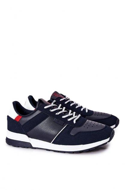 Biela obuv kód topánok II174083 NAVY