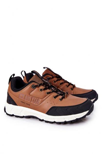Hnedá obuv kód topánok II174180 BROWN