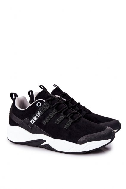 Čierna obuv kód topánok II174186 BLK