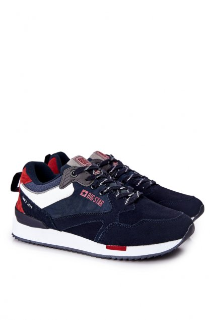 Biela obuv kód topánok II174190 NAVY