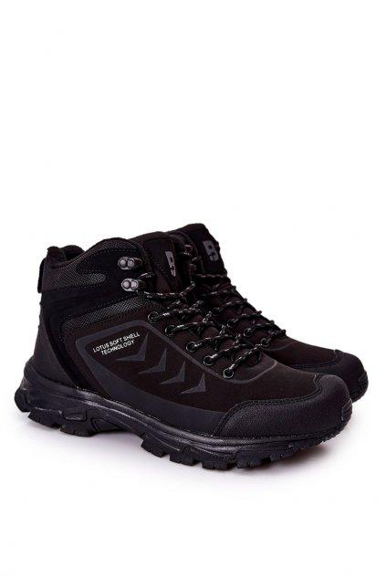 Čierna obuv kód topánok 9TR37-1403 BLK