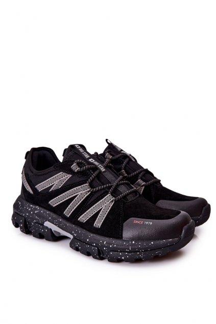 Čierna obuv kód topánok II174237 BLACK