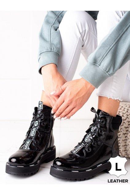 Čierne dámske topánky Artiker kod 49C0324B