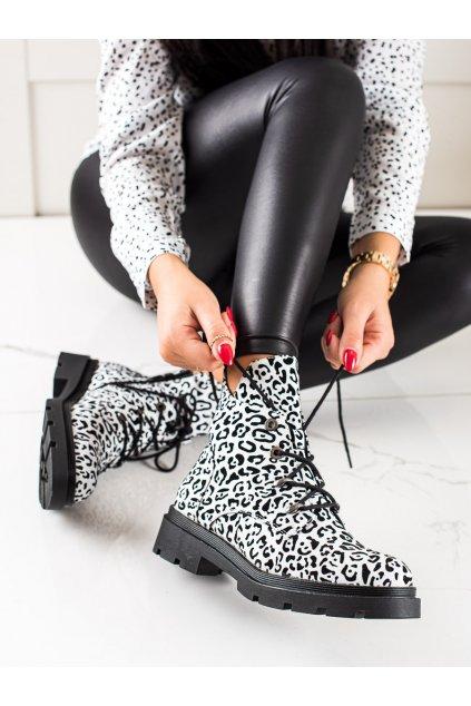 Biele dámske topánky Filippo kod DBT3071W