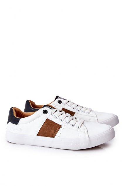 Biela obuv kód topánok II174037 WHT/BEIGE