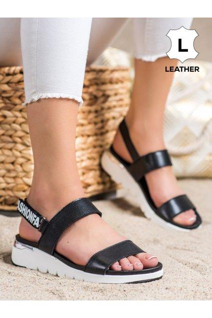 Čierne dámske sandále Filippo kod DS2141/21B