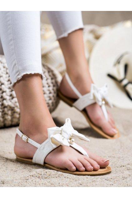 Biele dámske sandále Seastar kod CK196W
