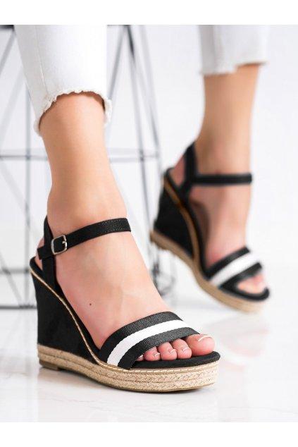 Čierne dámske sandále Kayla kod LL6320B