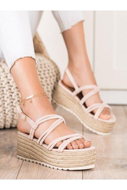 Hnedé dámske sandále Seastar kod JH151BE