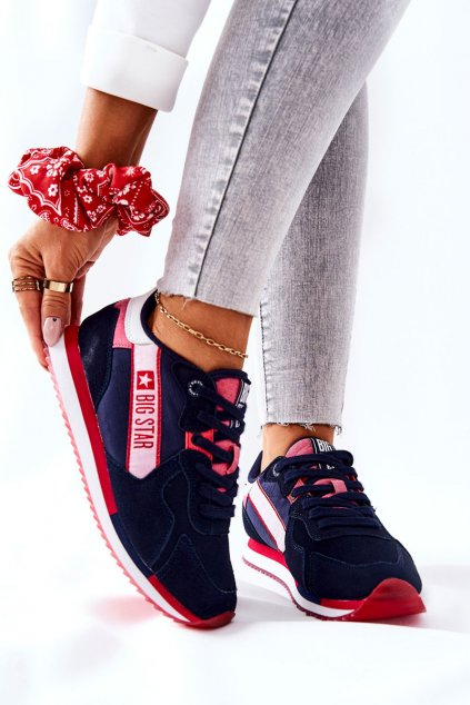 Dámske tenisky farba biela kód obuvi II274270 NAVY
