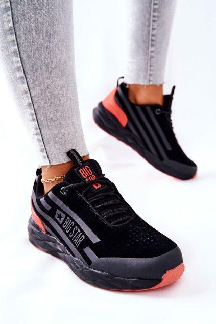 Dámske tenisky farba červená kód obuvi II274460 BLK