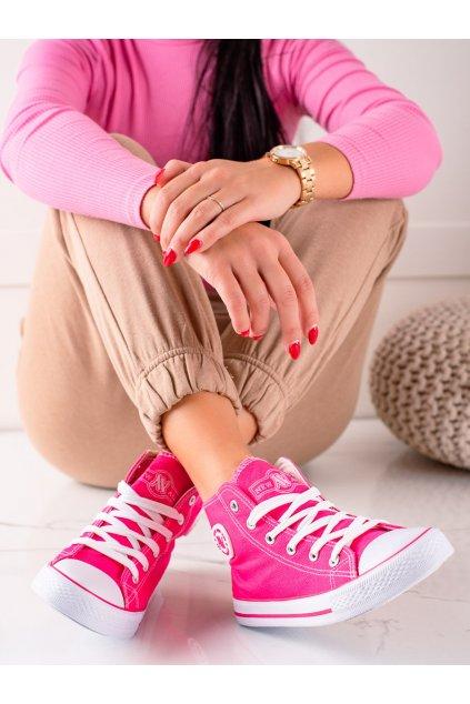 Ružové dámske tenisky New age kod 082K/F