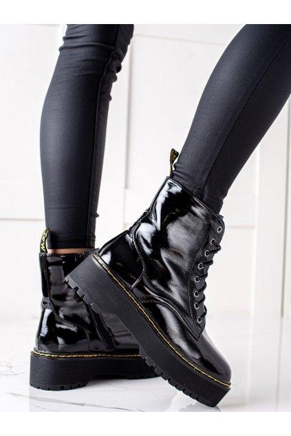 Čierne dámske topánky Goodin kod GD-XR-616B