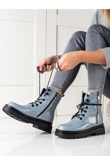 Fialové dámske topánky Sixth sense kod