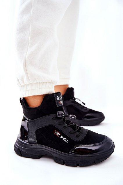 Dámske tenisky farba čierna kód obuvi RM24-1 BLK