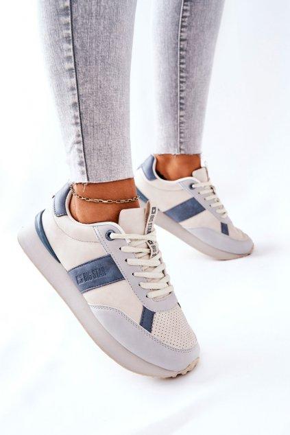 Dámske tenisky farba sivá kód obuvi II274397 GREY/BLUE
