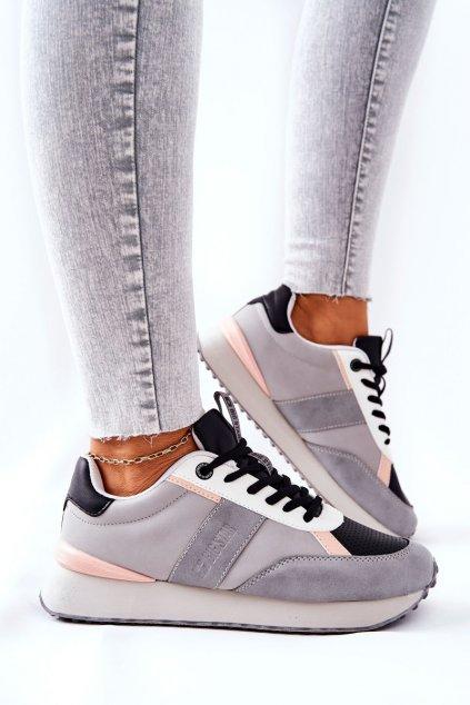 Dámske tenisky farba čierna kód obuvi II274398 GREY/BLK