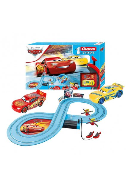 Autodráha Carrera FIRST Cars - Race of Friends 2,4 m