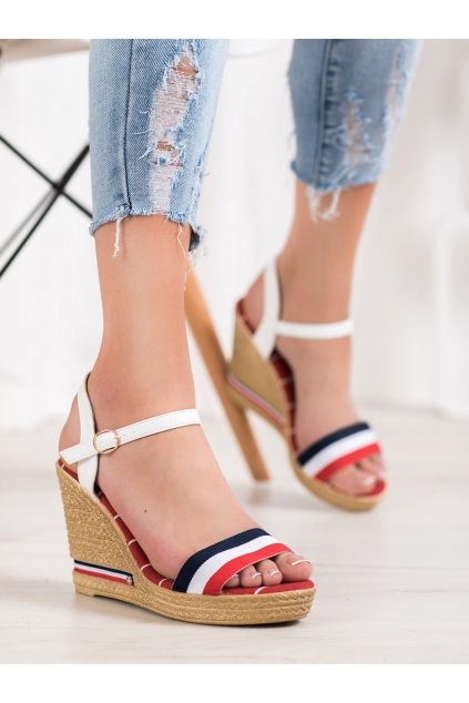 Viacfarebné dámske sandále Yes mile kod 9S0356R