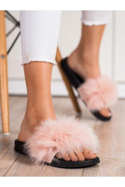 Hnedé dámske topánky na doma Bona kod RS-45NU