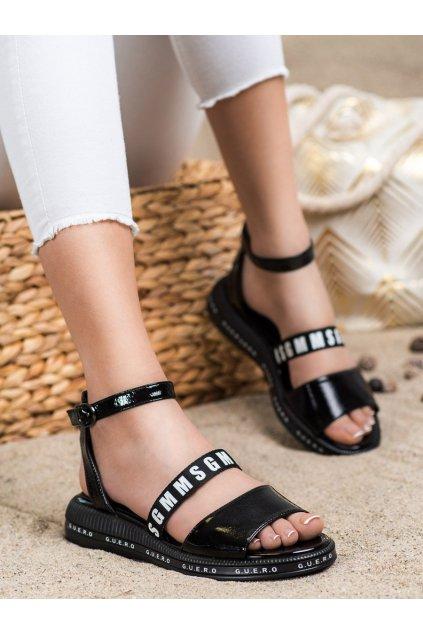 Čierne dámske sandále Filippo kod DS2321/21B