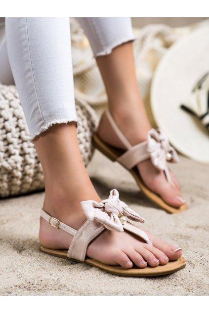 Hnedé dámske sandále Seastar kod CK196BE