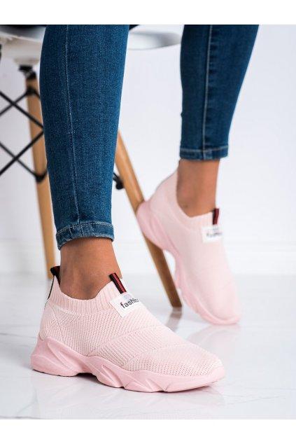 Ružové dámske tenisky Trendi kod SJ2080P