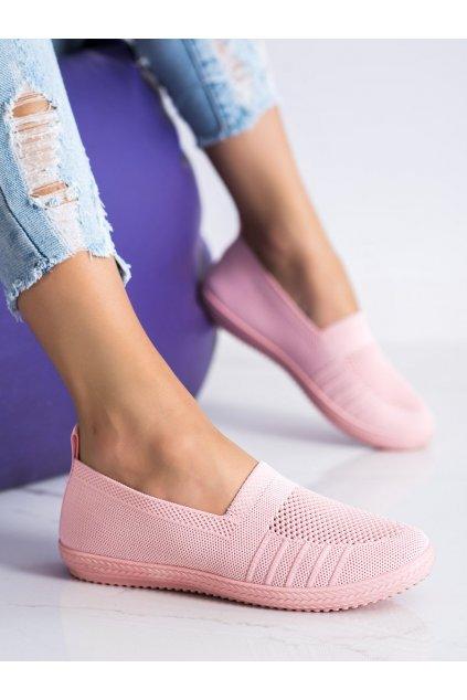 Ružové dámske tenisky Trendi kod C018RO
