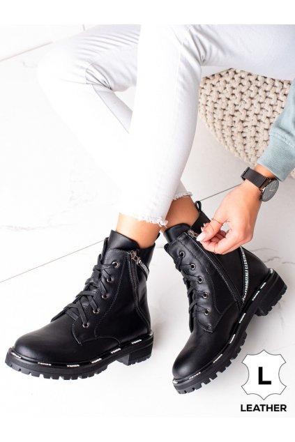 Čierne dámske topánky Artiker kod 49C0318B