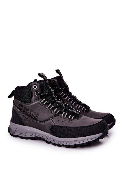 Čierna obuv kód topánok II174176 BLK