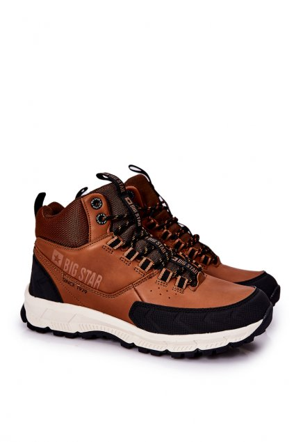 Čierna obuv kód topánok II174179 BROWN
